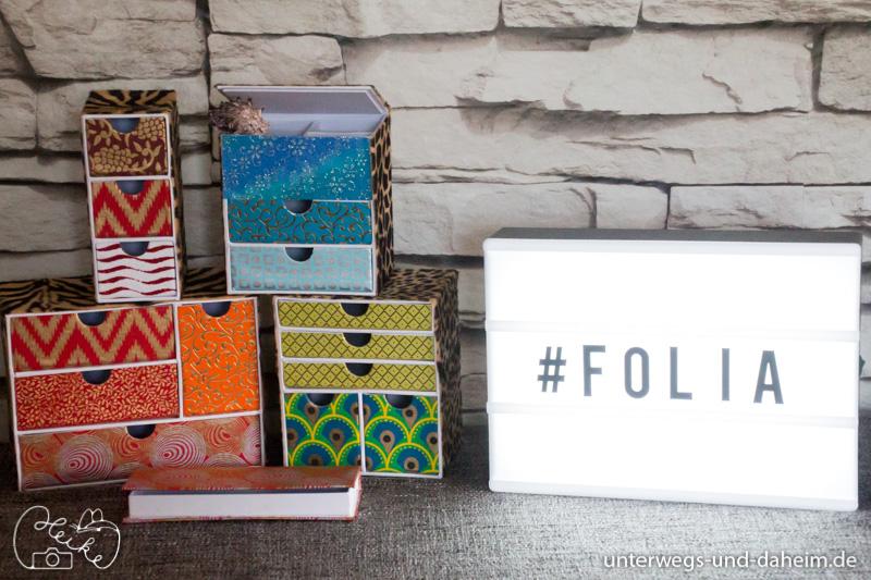ordnung auf den schreibtisch bringen mit folia unterwegs und. Black Bedroom Furniture Sets. Home Design Ideas