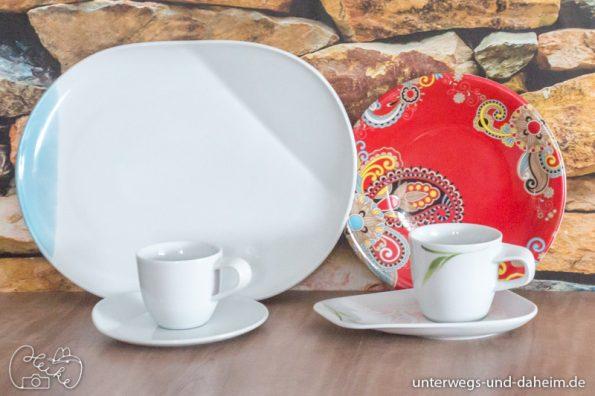 ein sch n gedeckter tisch mit kahla porzellan unterwegs und. Black Bedroom Furniture Sets. Home Design Ideas