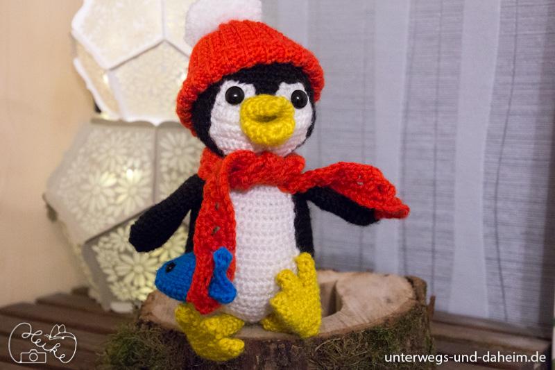 Bommel Der Pinguin Amigurumi Unterwegs Und Daheimde